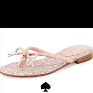 EUC Kate Spade pink sandals/ flip flops  sz 8.5